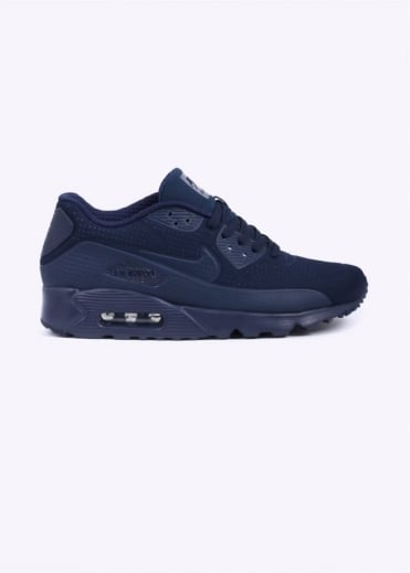 Nike Footwear Air Max 90 Ultra Moire Trainers - Navy