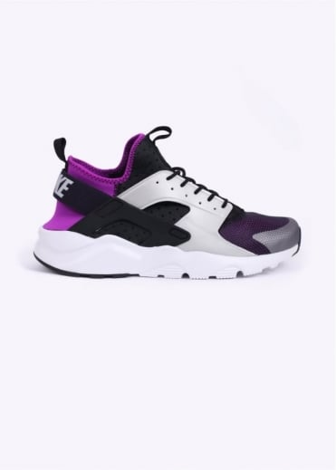 Nike Footwear Air Huarache Run Ultra Trainers - Black / Wolf Grey