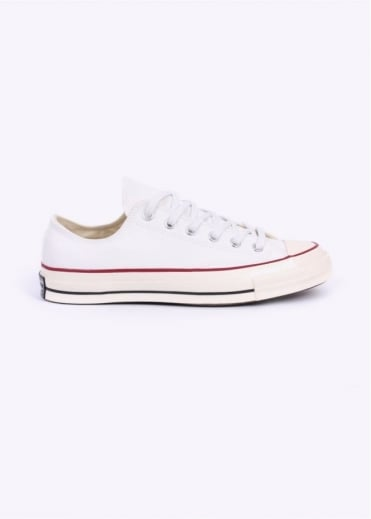 Converse Chuck Taylor 70's Ox Canvas Trainers - White / Red / Black