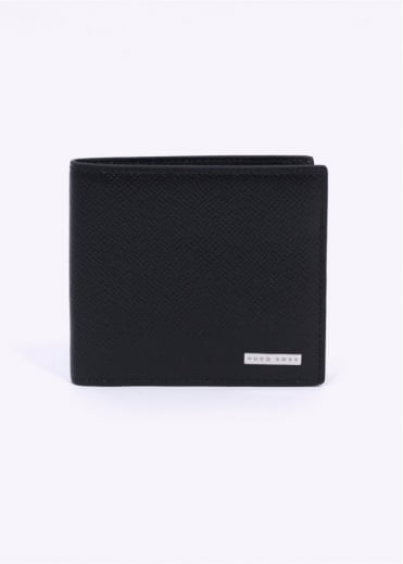 Hugo Boss Signature 8 Card Holder - Black