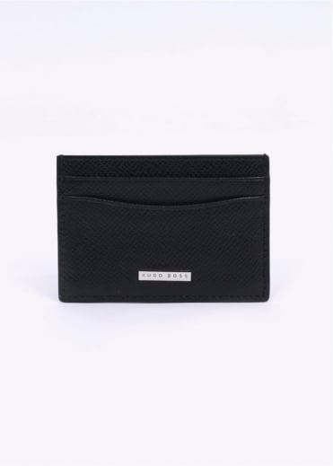 Hugo Boss Signature S Card Holder - Black