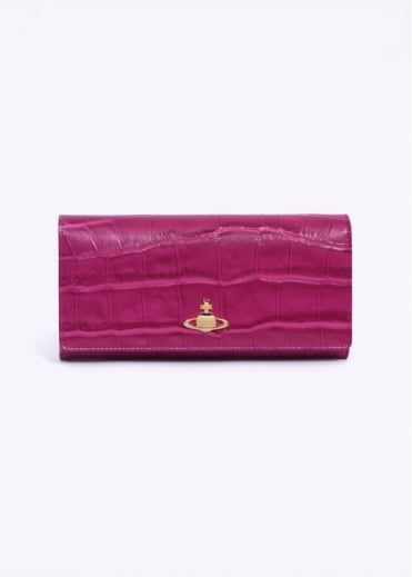 Vivienne Westwood Accessories Beaufort Purse - Fuchsia