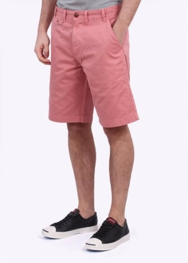 Barbour Neuston Twill Shorts - Pale Pink