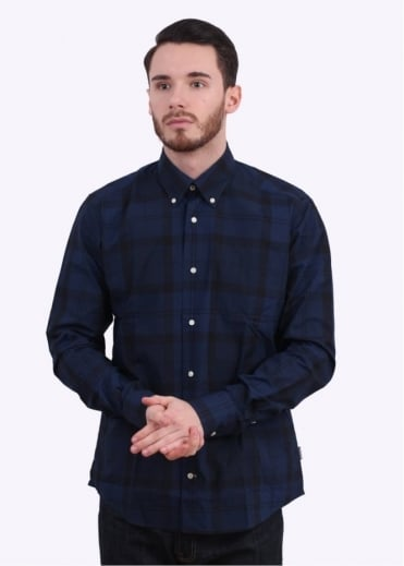 Barbour Pennith Shirt - Navy