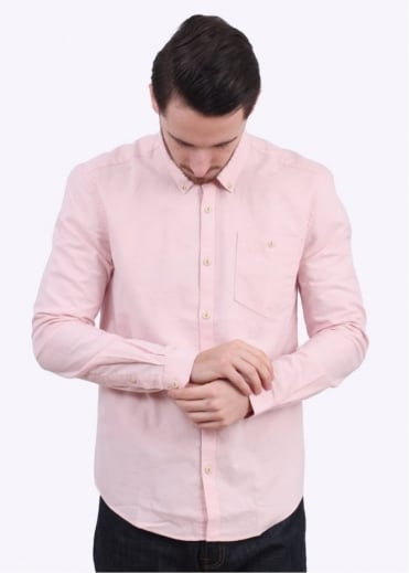 Barbour Charles Oxford Shirt - Pink