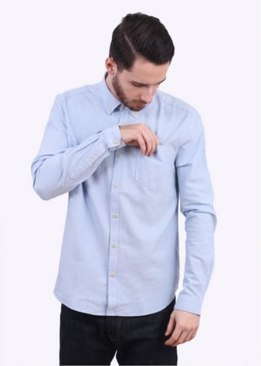 Barbour Charles Oxford Shirt - Blue