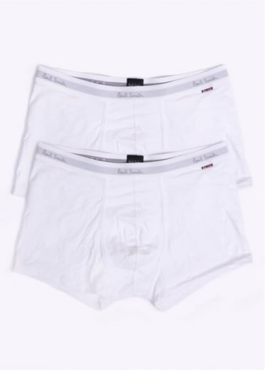 Paul Smith Accessories 2 Pack Trunks - White