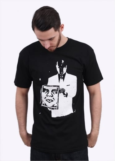 Obey Corporate Violence Tee - Black