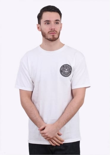 Obey Worldwide Seal Tee - White