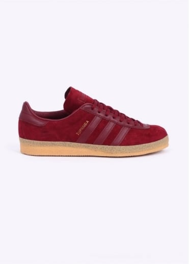 Adidas Originals Footwear Topanga Trainers - Burgundy