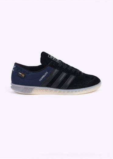Adidas Originals Footwear Hamburg Tech Trainers - Black