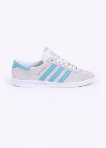 Adidas Originals Footwear Hamburg Trainers - Crystal White