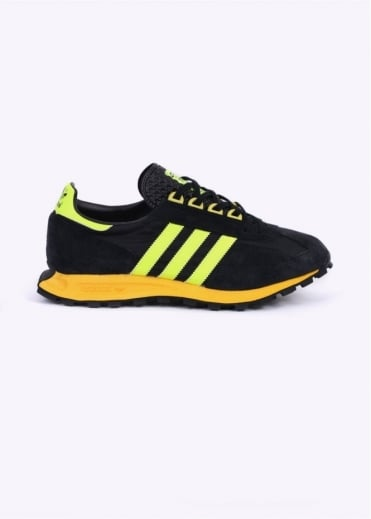 Adidas Originals Footwear Racing 1 Trainers - Black / Yellow