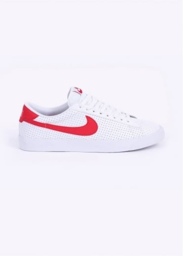 Nike Footwear Tennis Classic AC Trainers - White / Red