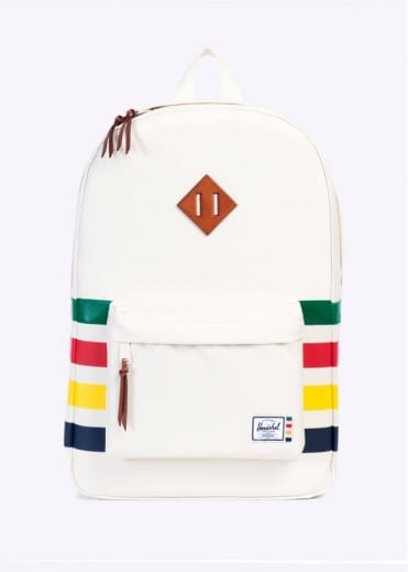 Herschel Supply Co. x Hudson Bay Company Heritage Backpack - Cream Stripe