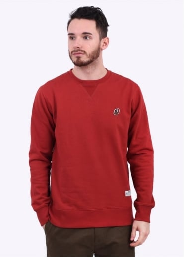 Penfield Honaw Crew Neck Sweater - Red