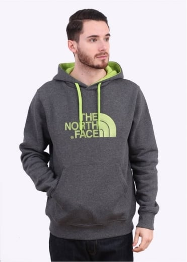 North Face Drew Peak PLV Hoodie - Medium Grey Heather