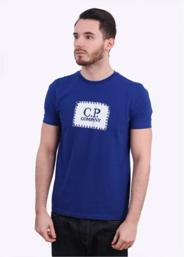 C.P. Company Patch Logo Tee - Royal Blue