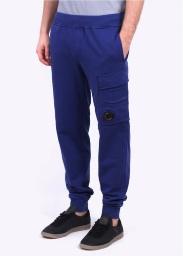 C.P. Company Fleece Lens Track Pants - Bluette