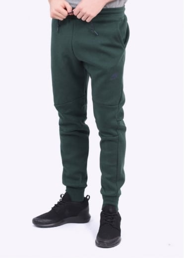 Nike Apparel Tech Fleece Pant - Green / Obsidian