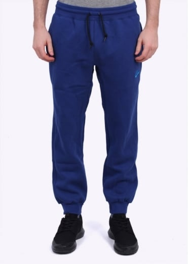 Nike Apparel AW77 Cuffed Fleece Pant - Deep Royal Blue