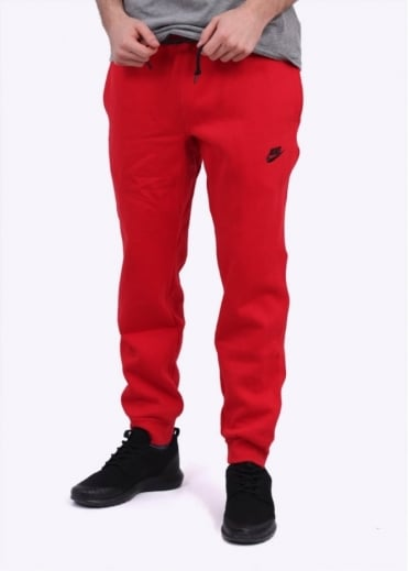 Nike Apparel AW77 Cuffed Fleece Pant - University Red