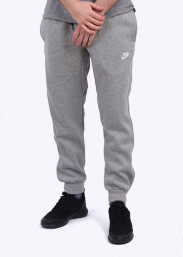 Nike Apparel AW77 Cuffed Fleece Pant - Dark Grey Heather