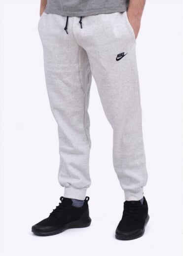 Nike Apparel AW77 Cuffed Fleece Pant - Birch / Obsidian