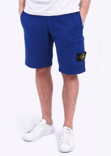 Stone Island Bermuda Shorts - Bright Blue