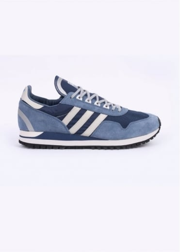 Adidas Originals Spezial SPZL ZX 400 Trainers - Night Marine / Talc / Bluebird