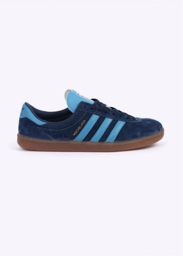 Adidas Originals Spezial SPZL Hochelaga Trainers - Collegiate Navy / Blanch Sea