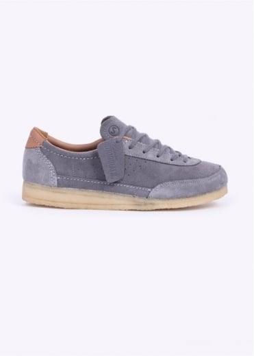 Clarks Originals Torcourt Super - Blue Grey Suede