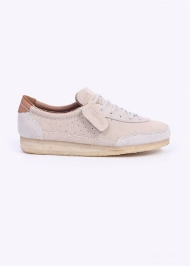 Clarks Originals Torcourt Super - Off White Suede