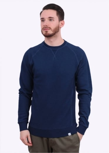 Norse Projects Tristan Lightweight Sweater - Indigo