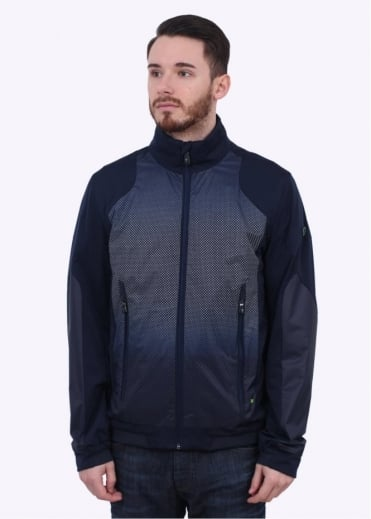 Hugo Boss Green Jossato Jacket - Navy