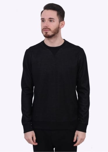 Hugo Boss Green C-Salbo Sweater - Black