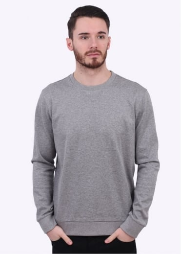 Hugo Boss Green C-Salbo Sweater - Light Grey