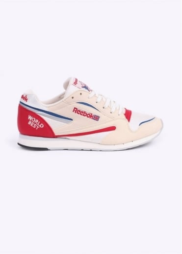 Reebok World Best Trainers - Chalk / Paperwhite / Grey / Red