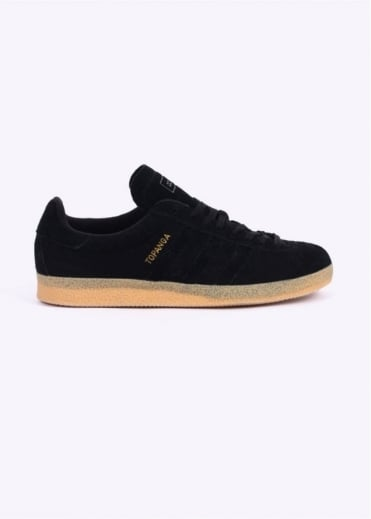 Adidas Originals Footwear Topanga Trainers - Core Black / Gum