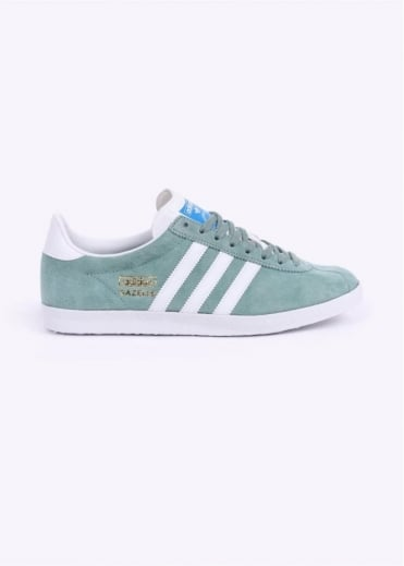 Adidas Originals Footwear Gazelle OG Trainers - Legend Green / White