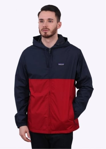 Patagonia Light & Variable Hoody - Red / Navy