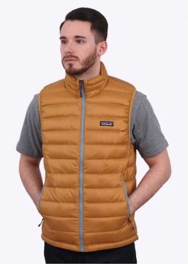 Patagonia Down Sweater Vest - Oaks Brown