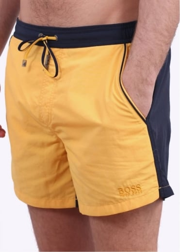 Hugo Boss Accessories Snapper Shorts - Open Yellow