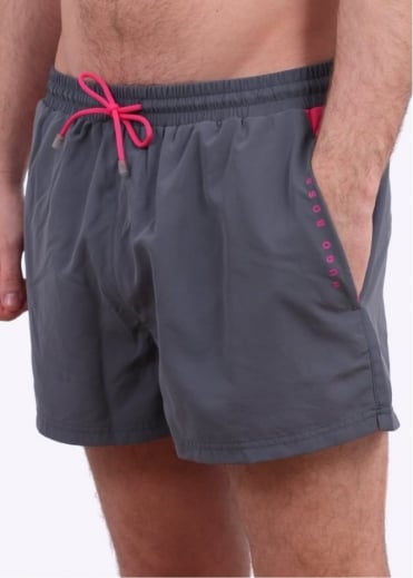 Hugo Boss Accessories Mooneye Shorts - Dark Grey