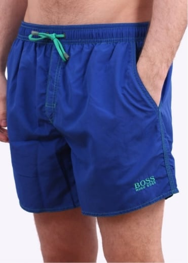 Hugo Boss Accessories Lobster Shorts - Medium Blue