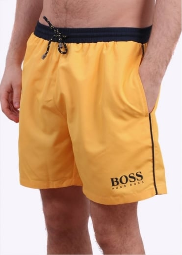 Hugo Boss Accessories Starfish Shorts - Bright Yellow