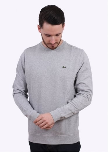 Lacoste Crew Sweat - Silver Chine