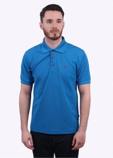 Fjallraven Crowley Pique Polo Shirt - Bay Blue
