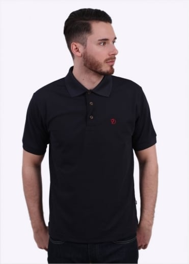 Fjallraven Crowley Pique Polo Shirt - Blueblack