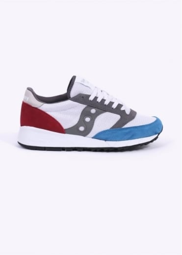 Saucony Jazz 91 Trainers - White / Blue / Red